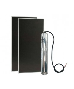 AquaPlus Helical Rotor Submersible Solar Pumps with 2 Thin Film Modules Kit